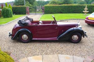 Alvis TA14 Drophead Coupe by Carbdies 1948, unfinished project