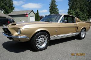 REAL 1968 MUSTANG SHELBY GT 500 w/ 43,337 ORIGINAL MILES