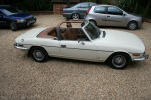BEAUTIFUL RELIABLE TRIUMPH STAG WHITE  Photo