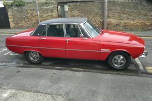 1974 Rover P6 3500 Monza Red  Photo