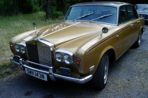 ROLLS ROYCE BROWN/GOLD