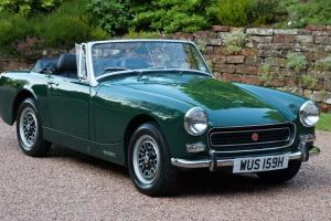 1970 MG MIDGET MK3 RWA - NEW HERITAGE SHELL - HISTORIC CAR- TAX EXEMPT