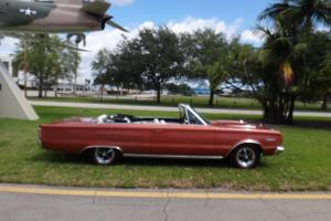 1967 PLYMOUTH GTX SUPER COMMANDO 440 V8 RESTORED MATCHING NUMBER CONVERTIBLE!!