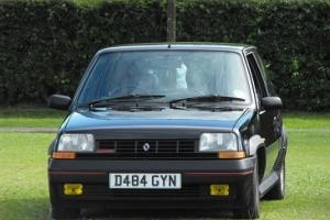 RENAULT 5 GT TURBO BLACK PHASE 1