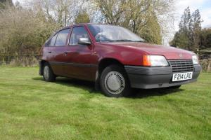 1989 Vauxhall Astra Merit 43500 Miles From New