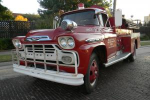 1959 VIKING FIRE TRUCK - EXCEPTIONAL NICE WITH LOW MILES