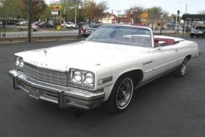 1975 Buick LeSabre Custom Convertible - Full 6 Pax - Only 84K miles