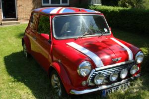 2000 ROVER MINI RED