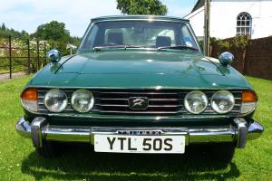 TRIUMPH STAG,1978, Auto, 3.0L, 8cyl, Soft/Hard Top, Racing Green, Restored Model  Photo