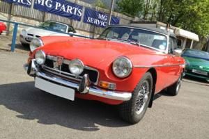 1974 MGB Roadster in Blaze Red, Convertible, Norton Canes, Paul Depper MGs