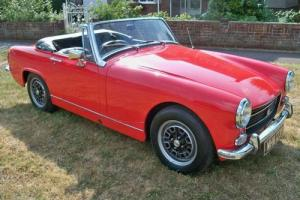 1970 MG/ MGF Midget Sports/Convertible 1cc Petrol