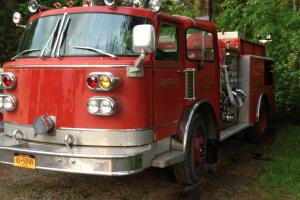 American LaFrance Firetruck 1981 Photo