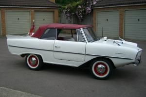1964 AMPHICAR WHITE  Photo