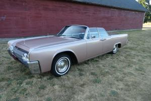 1963 lincoln continental convertible suicide  RUST FREE worldwide NO RESERVE! Photo