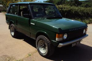 RANGEROVER CLASSIC 3 DOOR,1971 J REG,NICE EARLY ONE,GALV CHASSIS,4 SPD