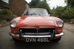 MG B GT 1973 Manual Overdrive MGB Tax exempt 2014  Photo