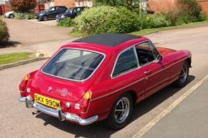 MGB GT RED - 1974 - FRESHLY RESTORED - FULL MOT  Photo