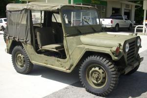 1972 Military Jeep M151A2 Ford MUTT - Excellent condition - Museum ready - 4x4