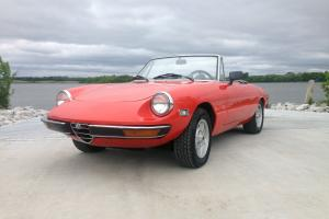 1971 ALFA ROMEO 1750 VELOCE SPIDER CONVERTIBLE RARE FUEL INJECT KAMM TAIL *WOW*