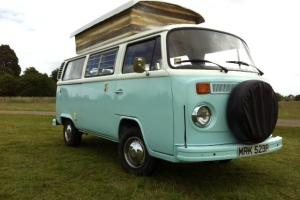 Classic 1976 Type 2 VW Camper. Ready to go