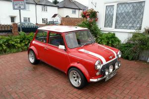 1991 ROVER MINI COOPER RED/WHITE