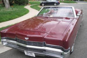 1969 Mercury Marquis Convertible - Original Survivor- Immaculate Inside and Out