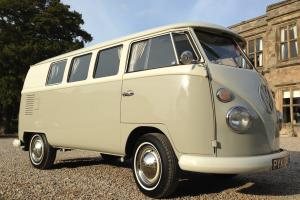 VW VOLKSWAGON SPLIT SCREEN CAMPER BUS TYPE 2 1967 RHD