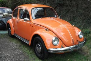 CLASSIC VW BEETLE SALOON 1973 1200 IN EXCELLENT CONDITION THROUGHOUT