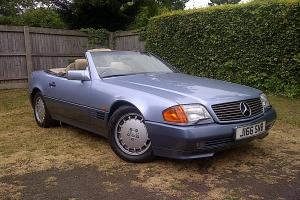 1992 MERCEDES 300SL AUTO BLUE  Photo