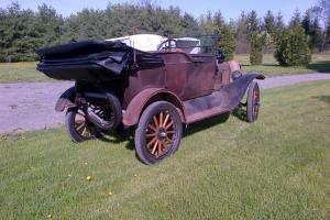 Ford : Model T touring