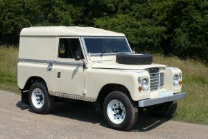 1982 Classic Land Rover Series III SWB 88 Photo