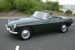 MGB Roadster,1964, Pull Handle, Chrome Bumpers, Tax Exempt, British Racing Green  Photo