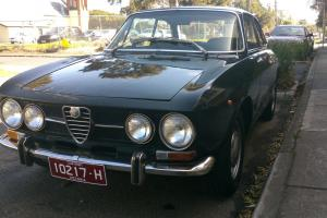 Alfa Romeo GT Veloce 1750 1970 2D Coupe 5 SP Manual 1 8L Carb