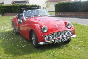 Triumph TR3A 1958  Photo