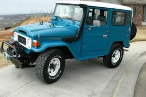 1984 landcruser fj 42.  Diesel 5 speed.  Stock clean
