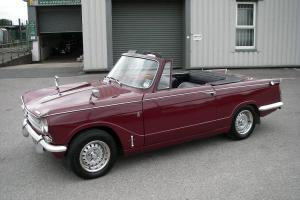 1969 TRIUMPH VITESSE Mk2 Convertible  Photo