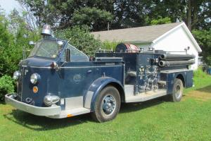 1957 American LaFrance Series 800 Fire Engine Photo