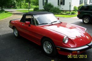 INCREDIBLE 1988 RED Alfa Romeo Graduate......in search of new LOVER