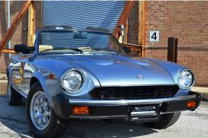 1983 Fiat Pininfarina Spider from Roadster Salon  August Delivery