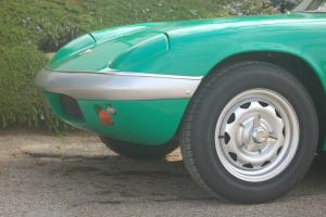 LOTUS ELAN SERIES 2, WEBERS, KNOCK OFF WHEELS, ROADSTER, CONVERTABLE Photo