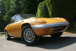 1970 LOTUS ELAN CONVERTIBLE
