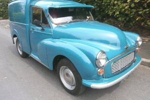 Austin Morris Minor Van 1970 Lovely condition 84000 miles Drives superbly