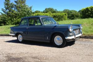 TRIUMPH HERALD 12/50, Full restoration totalling