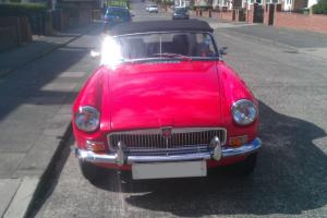 MGB Roadster fully restored. On the road. Classified ad not auction make offer  Photo