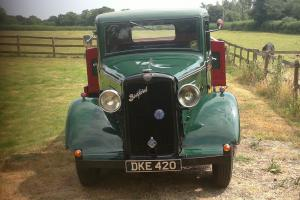 VERY RARE 1936 BEDFORD DOUBLE DROP SIDE TRUCK