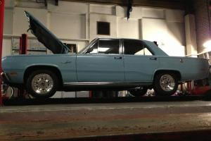 1969 PLYMOUTH BLUE