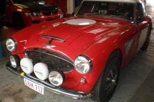 1962 Austin Healey MKII Rally Car  Photo