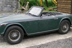 TRIUMPH TR4A 1966 IRS non overdrive  Photo