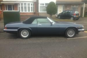 1989 JAGUAR XJS CONVERTIBLE AUTO BLUE , CONVERTABLE  Photo
