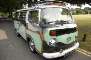 1974 VW BAYWINDOW CAMPER